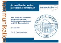 Studie Die Sprache der Banken