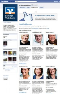 Facebook Berliner Volksbank