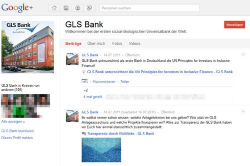 GLS Google Plus