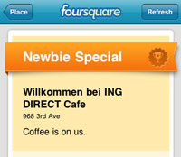 Foursquare ING New York