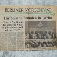 Morgenpost Extrablatt 9-11-1989
