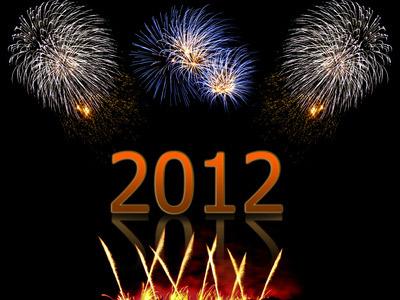 Silvester 2011 Feuerwerk