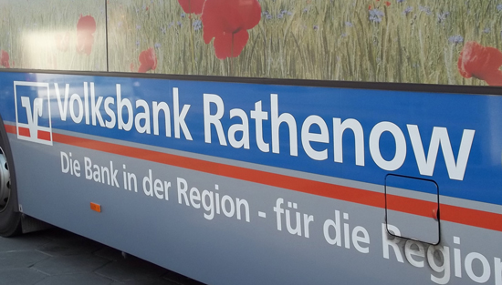 Volksbank Rathenow Bus