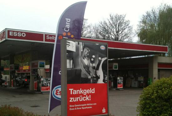 Esso Sparkassen Aktion