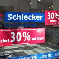 Schlecker Insolvenz