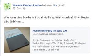 Empfehlung der Studie Markenführung im Web 2.0 durch den Haufe-Verlag