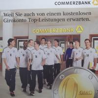 Commerzbank Fussballnationalmannschaft