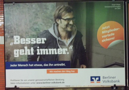 BVR Werbung mit Jürgen Klopp