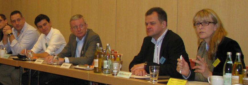 Matthias Schubert Bankmarketing und Sabine Reinert Rabobank Rabidirect Rabodialog 2013