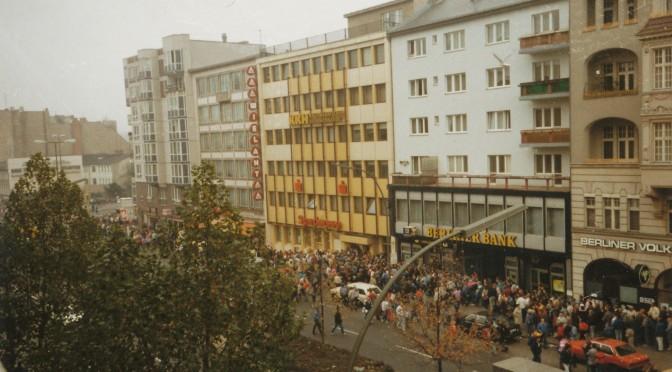 Begrüßungsgeld Berlin 1989